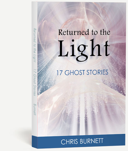 Book cover photo of Returned to the Light by Chris Burnett